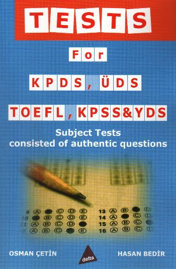 TEST FOR KPDS ÜDS TOEFEL  DLT